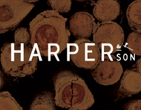 Harper&Son Tree Surgeons Corporate Identity.
