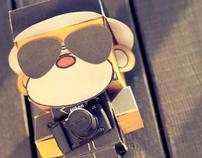 Monkey Business Papercraft