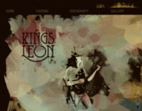 Fictitious Web Composition Kings of Leon