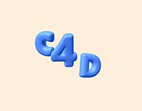 C4D Text Animation