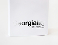 Georgiality - Book
