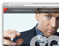 Condé Nast Website