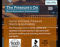 Responsive Website: The Pressure's On