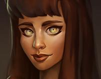Lana portrait