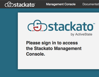 Stackato Web Management Console