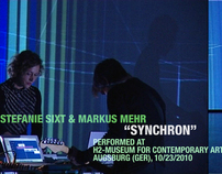 Synchron - audiovisual performance