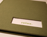 relax; BFA Graphic Design thesis