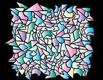 Creative color-palette illustration