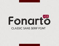 Fonarto v.2.0 - Free Font