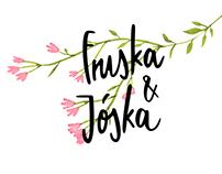 Fruska & Jóska / wedding illustration