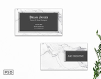 Free Innovative Business Card Template V4