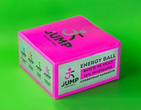 JUMP Energy Ball / Brand Identity & Packaging