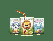 Packaging Design of Baby Juice