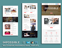 IMPOSSIBLE - Multipurpose Responsive Email Template