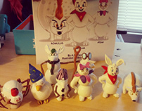 Snow Bunnies Toy Prototypes