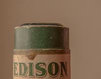 The Edison Amberol Wax Cylinder (1913)