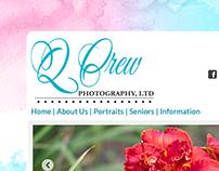 Q Crew Photography - Website Design