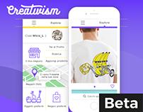 Creativism © App Concept UI