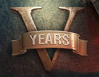 World of Tanks 5th Anniversary, Marketing Key Art