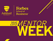 Forbes School of Business Mentor Week
