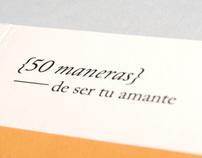 50 maneras de ser tu amante