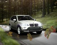 BMW X5 - CGI Test Drive for 'Car'