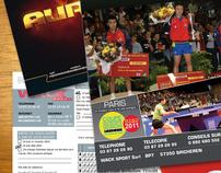 Encart publicitaire pour le magazine FFTT Mag