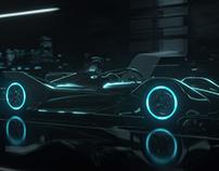 Jaguar Formula E Racing Animation