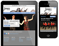 Footnotes Tap Ensemble Website Redesign