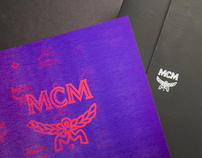 MCM F/W Collection VIP Invitation Card