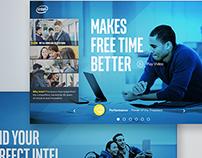 Intel Retail Experience Tool UX/UI