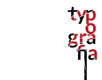 typografia / typography / concept poster