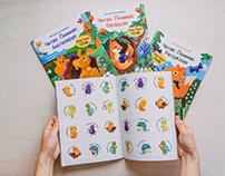 4 children educational books