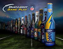 Bud Light Game Play Bottle Design & Website
