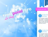 TroisPointZéro - V6 - Blog