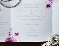 """Grey Love"" Wedding Stationery"