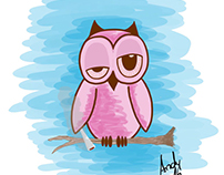 The stoned owl