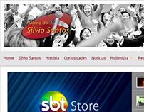 Página do Silvio Santos