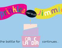 Sprinkles vs. Jimmies Birthday Card