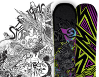 2012-2013 Sims Quest - Snowboard Design