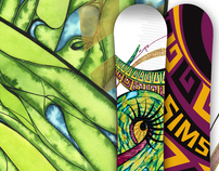 2010-2012 Sims Horizon - Snowboard Design