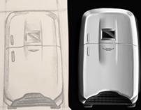 Aston Martin inspired fridge. (Work in progress)