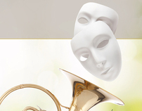Cover for the programme of PALLAS THEATER 2012