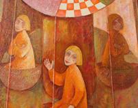 creative oil paintings