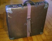 portfolio's suitcase