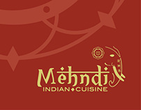 Mehndi Restaurant Logo and Menu