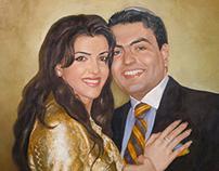 oil painting portrait. part 2