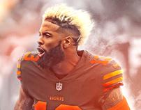 Odell Beckham Jr Cleveland Browns Jersey Swap