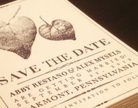 Personal Save the Date Cards