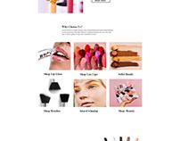 Eyeliner Web UI Design